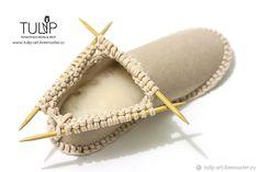 Делаем уютные домашние сапожки - Ярмарка Мастеров - ручная работа, handmade