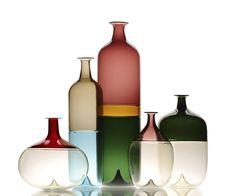 Vase contemporain / en verre / en verre soufflé BOLLE by Tapio Wirkkala  Venini