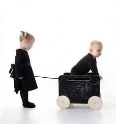 Our Ooh Noo Toy Blackboard Chest on Wheels is already a favourite amongst kids and has the added attraction of being a chalk drawable surface. This handmade wooden toy would be a stylish addition to any room . Nursery Storage, Kids Storage, Toy Storage, Trendy Kids, Modern Kids, Wooden Toy Chest, Pram Toys, Handmade Wooden Toys, Pure Fun