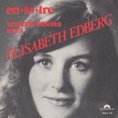En to tre. Dansktop-sangerinden Elisabeth Edberg synger en dansk version af det Franske bidrag fra 1976. Hun gør det ret godt :-) #esc76 #Frankrig