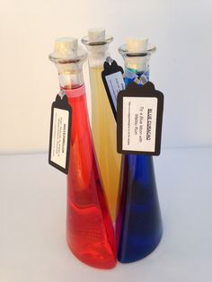 Stunning Ballet Bottles  200ml each.  Can be bought singularly or in set or three to make the most delightful gift