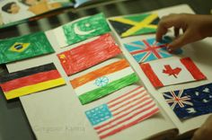 Are you traveling around the world with the 2013 theme? Here are crafts from around the world to enhance your programs.