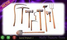 Medieval Tools (mesh)