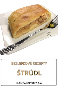 Very tasty strudel - czech recipe. Not hot not cold with vanilla ice cream and good coffee. It´s great goodness. Czech Recipes, Ethnic Recipes, Apple Desserts, Vanilla Ice Cream, Best Coffee, Hot Dog Buns, Gluten Free Recipes, Ham, Tasty