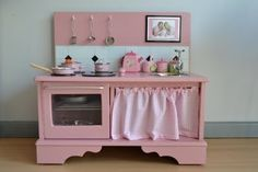 diy kids kitchen.
