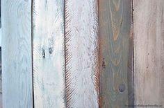 Tutorial cómo pintar madera con efectos envejecidos