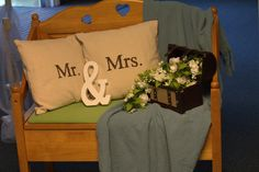 Economical Wedding Decor - using things from around the house!