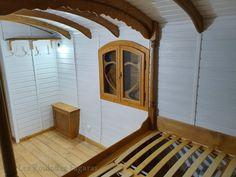 Bathtub, Mirror, Bathroom, Furniture, Home Decor, Gypsy Wagon, Standing Bath, Washroom, Bathtubs