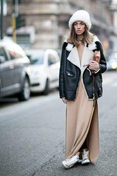 50 of the Best Street Style Snaps from Milan Men's Fashion Week Fall 2014 - theFashionSpot Net Fashion, Fashion Outfits, Womens Fashion, Fashion Beauty, Looks Style, Style Me, Street Outfit, Street Wear, Milan Men's Fashion Week