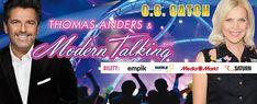 10.03.18 w Ergo Arenie zagrają : Thomas Anders z MODERN TALKING oraz C.C. CATCH !!