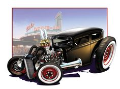 CARtoons and Hot Rods | Swanson ArtworksSwanson Artworks