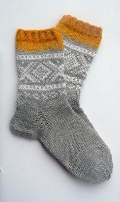 Crochet Patterns Wear Ravelry: Marius socks pattern by Unn Søiland Dale Crochet Socks, Knit Or Crochet, Knitting Socks, Hand Knitting, Ravelry, Laine Rowan, Knitting Patterns, Crochet Patterns, Patterned Socks