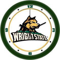 Wright State University Glass Wall Clock