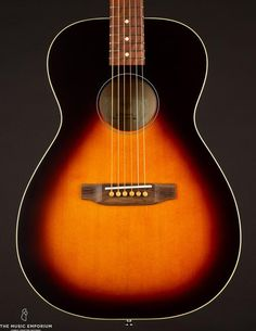 This Martin 00-30 from 1903 has a quality of tone that is purely sublime, combining the best aspects of steel and gut into one magical instrument. Martin Acoustic Guitar, Small Bridge, Antique Radio, Thing 1, Fender Guitars, Sidecar, Instruments, Blues, The Originals