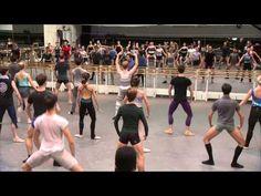 The Royal Ballet Full Class - World Ballet Day 2014 - YouTube