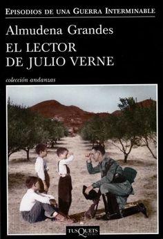 """Almudena Grandes: """"El lector de Julio Verne"""" 2012.."""