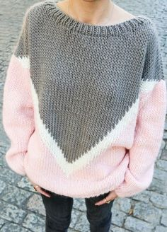 28 Women's Sweaters To Rock Your Winter Style - Luxe Fashion New Trends Autumn Fashion Women Fall Outfits, Winter Mode Outfits, Simple Outfits, Casual Outfits, Cute Outfits, Textiles Y Moda, Knit Basket, Knitting Kits, Knitting Needles