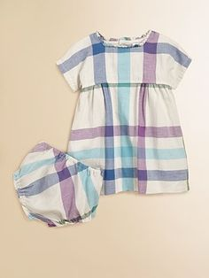 New favorite dress and bloomers set from Burberry!