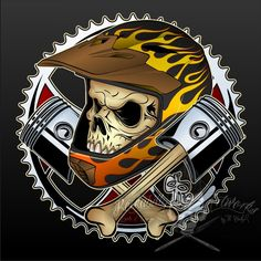 A Design made for DTG Shirt Print maybe used as Sticker and Poster too. Its dedicated to one of my biggest passions the Freestyle MotoX. FMX - Skull and Bones Shirt Dirt Bike Tattoo, Engine Tattoo, Motorcross Bike, Biker Tattoos, Psychedelic Drawings, Bike Photoshoot, Moto Cross, Graffiti Drawing, Garage Art