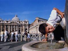 Visite o Vaticano e o novo papa