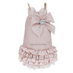 Louis Dog WOW Padding Dress- Pink- Shop By Designer - Louis Dog Collection - Clothes Posh Puppy Boutique Yorkie Clothes, Cute Dog Clothes, Girl Dog Clothes, Pet Fashion, Animal Fashion, Dog Closet, Puppy Diapers, Designer Dog Clothes, Dog Cat