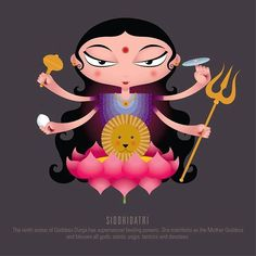 Kali Puja, Durga Maa, Shiva Shakti, Durga Painting, Mother Goddess, Book Of Shadows, Hinduism, Indian Art, Deities