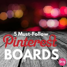 "Perfectly curated Pinterest boards are a goldmine of great information. ""I spend a lot of time making sure that my boards are refreshed with relevant and interesting content for people to find and repin to their boards'-says @pegfitzpatrick in her blog  Her love for Pinterest continues to grow as her resources build and she pins to her Pinterest board collections. Pinterest is for sharing and marketing but her number one reason to pin is to gather inspiration and save valuable resources."