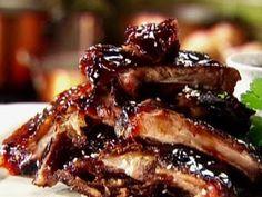 Easy Honey Garlic Slow Cooker Ribs ~ good recipes