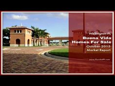 http://brokernestor.realtytimes.com/marketoutlook/item/40938-buena-vida-in-wellington-fl-homes-for-sale-market-report-october-2015 - Planning to purchase a home in Wellington FL IN A 55+ community? Buena Vida might just be perfect for you! Read the latest market conditions of this community here. For more information on homes for sale in Buena Vida in Wellington Florida, please call us, Nestor Gasset and Katerina Gasset, at 561-753-0135.