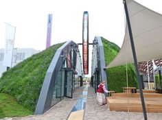 Belarus' pavilion at the World Expo 2015 highlights the republic's engagement in the fight against hunger through environmentally friendly methods.