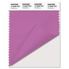 10. Bodacious. Pantone's Top Colors for Fall 2016. While this bold shade isn't typically associated with fall, it's actually quite versatile thanks to its combination of pink and purple, according to Pantone.