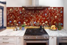 Mosaics, some with 24-karat gold accents or hand-crafted patterns, prove an antidote to silent white walls.