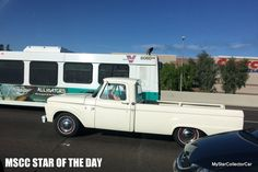 MSCC March 9 Star of the Day-yesterday's traffic offers a study in style. READ MORE: http://mystarcollectorcar.com/mscc-march-7-stars-of-the-day-62-chrysler-newport-never-judge-a-book-by-its-cover/