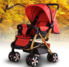 Factory Wholesale Sunshade Portable Shockproof Baby Stroller Newborn Toddler Kids Infant Pram Carrier Foldable Carriage Buggy