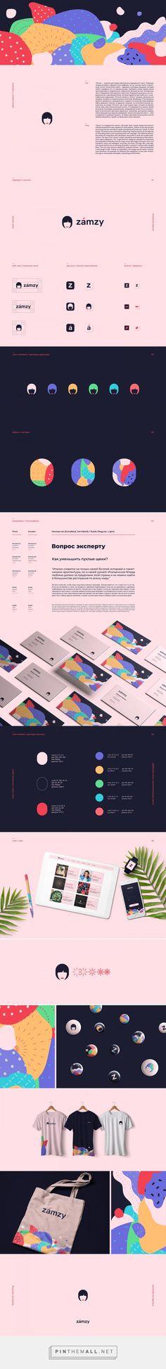 Zamzy Women's Magazine Branding by Logo Machine | Fivestar Branding Agency – Design and Branding Agency & Curated Inspiration Gallery #branding #brand #design #designinspiration #pattern