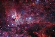 Hebus - Nébuleuses NGC3372
