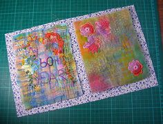 putting the fabric book together by gramary --- Click on picture and go to her blog with instructions for so many other aspects