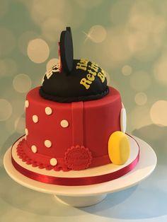 Double themed Disney cake