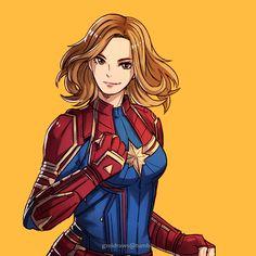 Captain Marvel the Kree Marvel Anime, Marvel Comics, Marvel E Dc, Marvel Fan Art, Marvel Girls, Disney Marvel, Marvel Heroes, Marvel Characters, Marvel Avengers