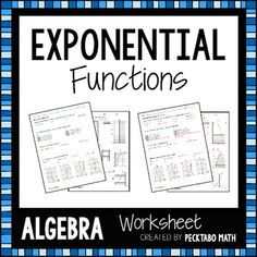 25 best Exponential Growth/Decay images on Pinterest   Teaching ...