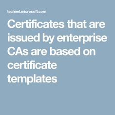 Basic efs template is used for encrypting file system 414 efs certificates that are issued by enterprise cas are based on certificate templates yadclub Image collections