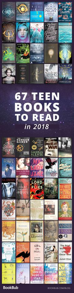 This best and must-read book list was made especially for teens and young adults. These books from 2017 and 2018 are full adventure, love, life changing moments, and self realization. They all are all popular and come highly recommended.