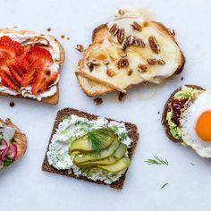 5 delicious toast topper recipes