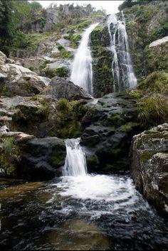 Belelle falls, Ferrol, Spain