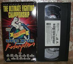 UFC The Ultimate Fighting Championship XVII Redemption Vhs Video With Box Cover