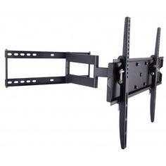 Techly ICA-PLB Universal bracket for fixing a flat LED / LCD or a monitor to the wall; Online Computer Store, Full Motion Wall Mount, Black Tv, Flat Panel Tv, Home Tv, Wall Mounted Tv, Wall Brackets, Computer Technology, Tvs