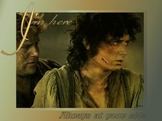 I love Frodo and Sam's friendship, every time Frodo is having a hard time with the ring Sam tries to understand its power and is always there to help!