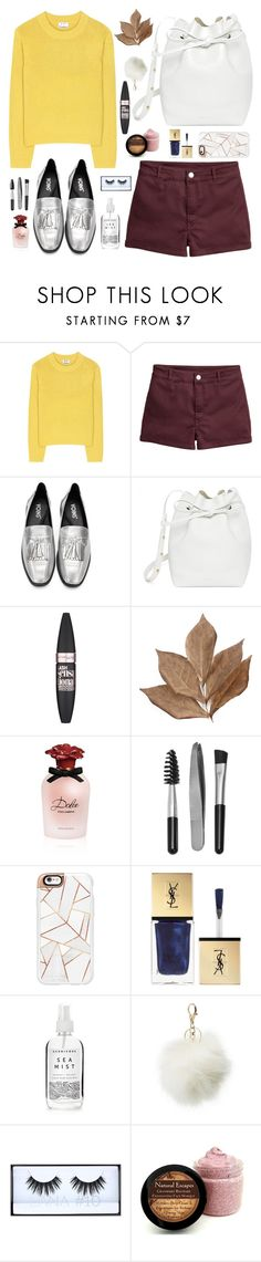 """Happiness"" by velvet-rat ❤ liked on Polyvore featuring Acne Studios, H&M, Mansur Gavriel, Maybelline, Bliss Studio, Dolce&Gabbana, Sephora Collection, Casetify, Yves Saint Laurent and Herbivore"