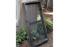 HUGE French Wooden Nursery With Wire Bottom    $32.00@http://antiquefarmhouse.com/current-sale-events/outdoors.html