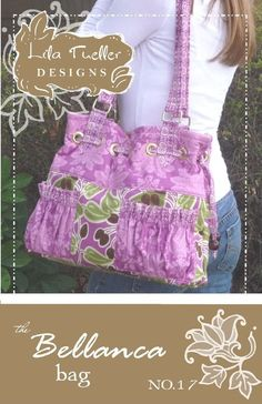 Lila Tueller Designs The Bellanca Bag Pattern by Fabriphoria, $6.50